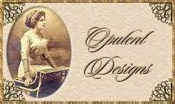 Opulent Designs, logo for email graphic