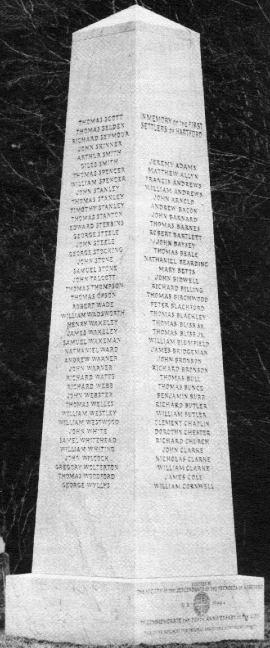 Founder S Monument Hartford Connecticut